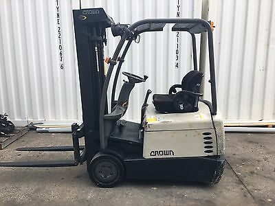 2012 Crown 1.5tonne Battery Electric Forklift