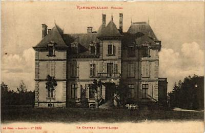 CPA Rambervillers Le Chateau Sainte-Lucie. (398249)