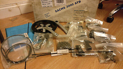 NOS Sachs ATB Groupset Early 90s in original box with paperwork