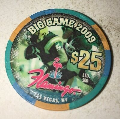 Flamingo $25 Casino Chip Las Vegas Nevada 2.99 Shipping