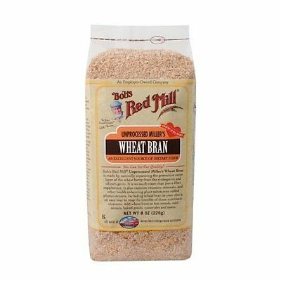 Bobs Red Mill Unprocessed Millers Wheat Bran  8 Ounce