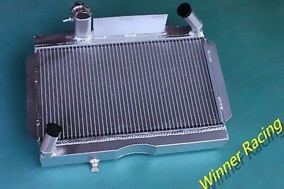 Aluminum Alloy Radiator Fit MGA 1500, 1600, 1622, DE LUXE 1955-1962 1961 1960 59