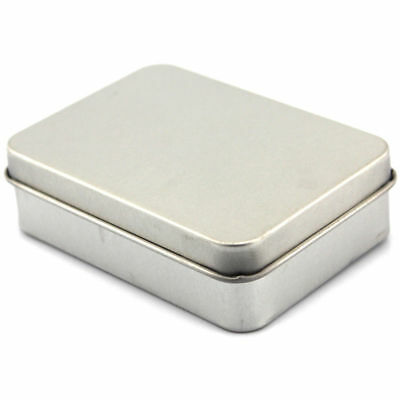 Box Container Business Metal Tin Tobacco Snuff Card Holder Storage Case Sow Kit