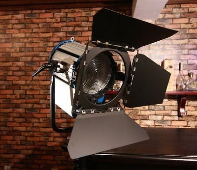 2000W Fresnel Tungsten Spotlight + 2000 watts Bulb studio film lighting