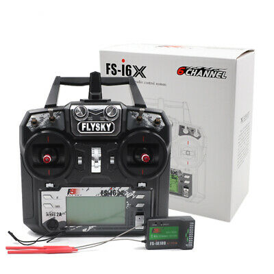 Flysky 2.4G FS-i6X 10CH RC Transmitter With iA10B Receiver for RC Quadcopter