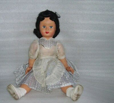 Vintage Papier-Mache? Crying Doll, Mod. Breve Milano-Italy, One Leg Disjointed