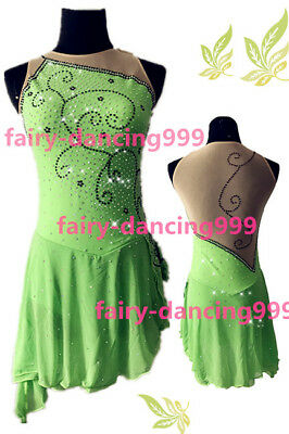 2017 New Style Ice Figure skating dress Ice skating dress for competition p339