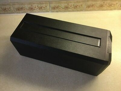 Rare Posso Media Box Storage In Black - Excellent Condition - Free P&P