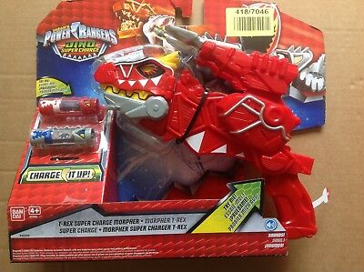 Power Rangers Dino Supercharge Deluxe T-Rex Morpher