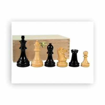 Chess Figures - Grand Staunton - Black - KINGS HEIGHT 95mm