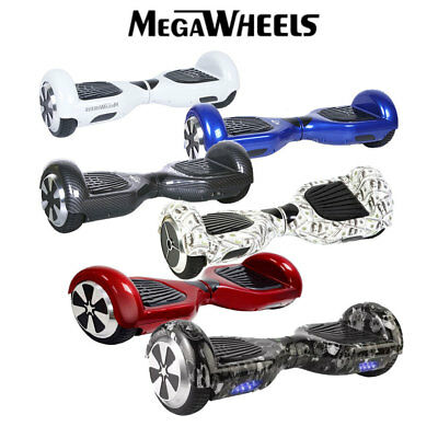 Hoverboard 6.5'' Luci Led Bluetooth Monopattino Elettrico Scooter Smart Balance