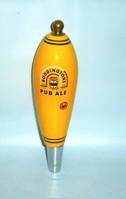 Boddingtons Ale Beer ceramic font tap top handle keg badge for home bar pub