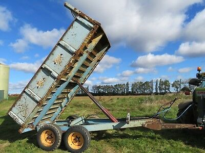 Weeks Tipping / Tipper Trailer (muck, dirt, dump, beet, corn, feed, logs, wood)