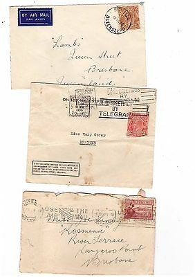 Australia  Group of Covers    ( 3 Covers )    Lot 20
