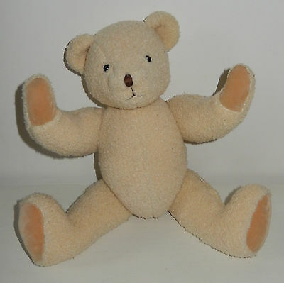 Adorable peluche Ours MOULIN ROTY tradition 35 cm TBE
