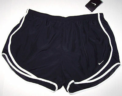 Nwt New Nike Tempo Running Shorts Short Dri-fit Inner Panty Black White Women