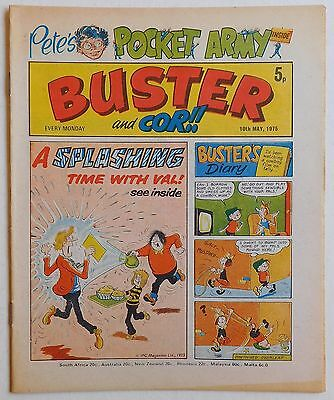 BUSTER and COR Comic - 10th May 1975