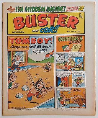 BUSTER and COR Comic - 15th March 1975