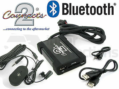 Ford Fiesta Bluetooth streaming adapter handsfree call CTAFOBT003 AUX USB iPhone