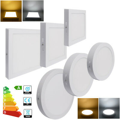 5x 12W 18W 24W 48W LED Ceiling Panel Light Surface Mounted Downlight Cool White