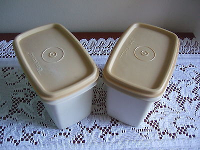 TUPPERWARE OBLONG Containers .Fits in the fridge door .