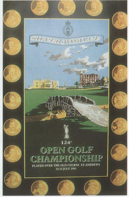 1995 ST ANDREWS THE OPEN GOLF CHAMPIONSHIP POSTER Open Edition
