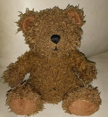 "Brown teddy bear 7"" plush soft toy"