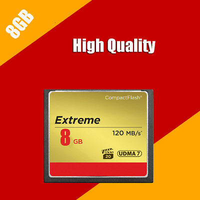 NEW 8G 8GB Flash Memory CF Card Ultimate Compact  120mb/s FOR Camera
