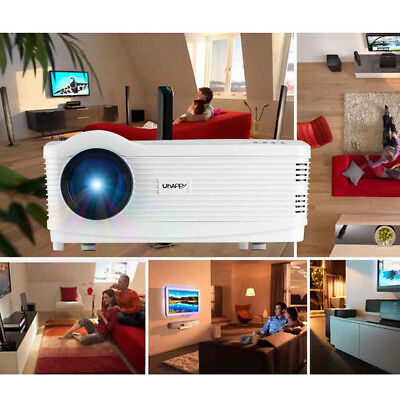 3D 1080P PROYECTOR DE HOME CINEMA 5000LM ZOOM HDMI HD LED ATV SD DVD PC Xbox PS4