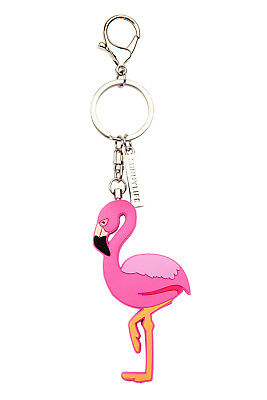 NEW Sunnylife Flamingo Key Ring | Pocket Size Keychain Handbag Gift | ihartTOYS