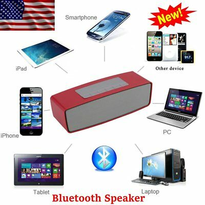 Super Bass Mini Portable Bluetooth Wireless Stereo Speaker Smartphone Tablet SG