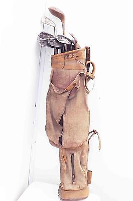 Vintage Golf clubs and bag.