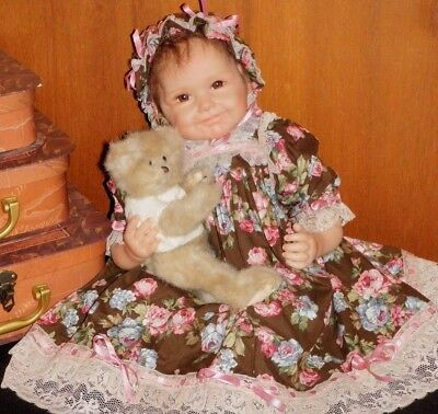 ' 3  Piece Dress Set For Reborn Dolls  19 - 22 Inches Inches.