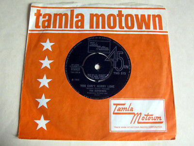 The Supremes-You Can't Hurry Love-Tamla Motown Tmg.575 1966 Ex+