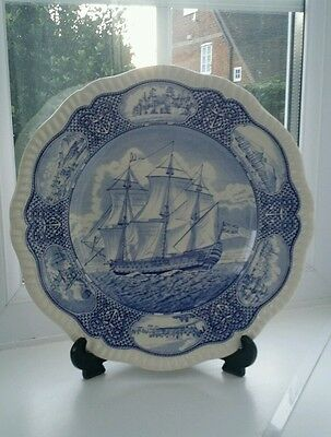 Spode 'Nelson' commerative plate