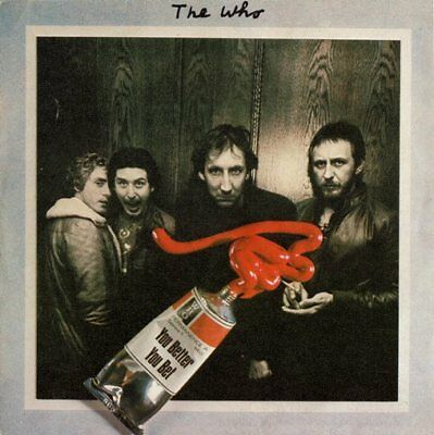 THE WHO ··· You better you bet - SPANISH PRESSING
