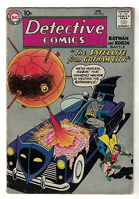 Detective Comics 266 Batman Martian manhunter Rare issue VGF 5.0 silver age