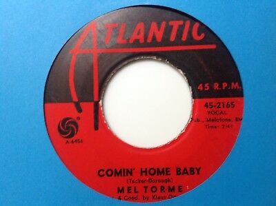Mel Torme - Comin' Home Baby /right Now -Atlantic 2165. Vg++