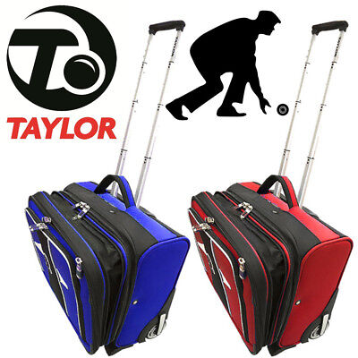 Taylor Bowls Large Trolley Case Lawn Bowls Suitcase Sports Luggage Travel Bag