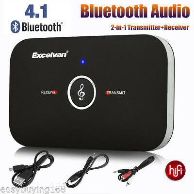 Bluetooth 4.1 Audio HIFI Receiver Transmitter Empfänger Sender Musik Adapter DE