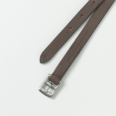 """Camelot Child's Stirrup Leathers - Brown - 3/4 x 36""""  or 3/4 x 48"""""""