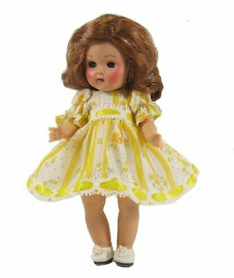 Ginny Doll Dress Beaded Lace Dress in Yellow