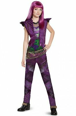 Mal Descendants 2 Classic Isle Mal Halloween Costume,  Free 2-3 Day Delivery!