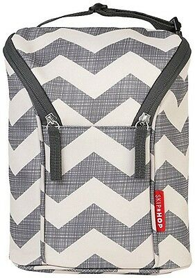 Baby Bottle Cooler Double Insulated Bag Carrier Holder or Sippy Cups Keep Cool