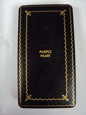 Original WWII Purple Heart Medal Box US Army Military
