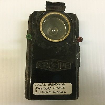 Crone WWII German Military 3 Colour Signal