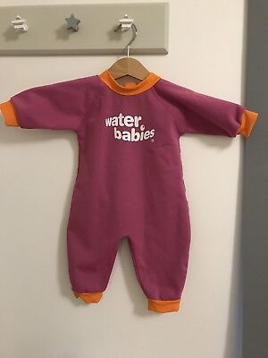 Water babies Wetsuit 3-6 Months Worn Once Warm In