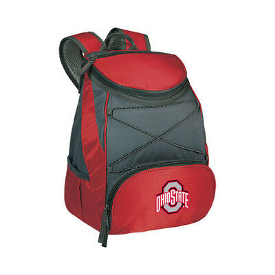 Picnic Time Unisex  PTX Cooler Backpack Ohio State Buckeyes Print