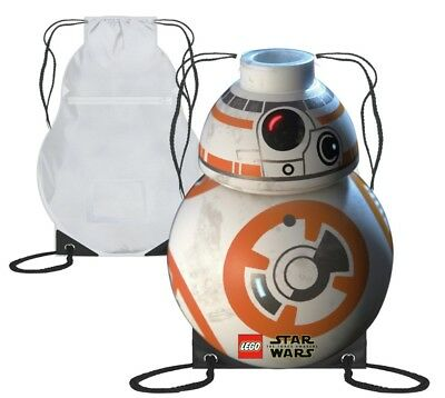 Drawstring bag bb8 Star Wars lego pe bag new