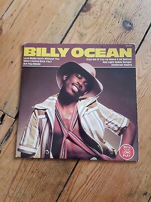 """7"""" BILLY OCEAN -- EP LONGPLAY inc red light spells danger and love really hurts"""